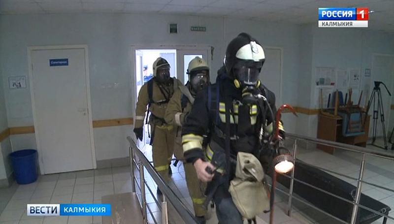 В Элисте сегодня эвакуировали пациентов республиканской больницы