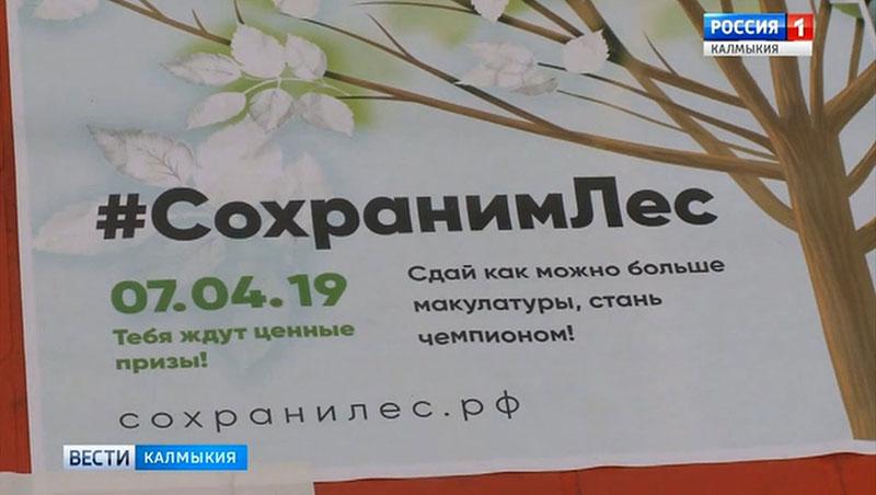 В Калмыкии прошла экологическая акция «Сохраним лес»