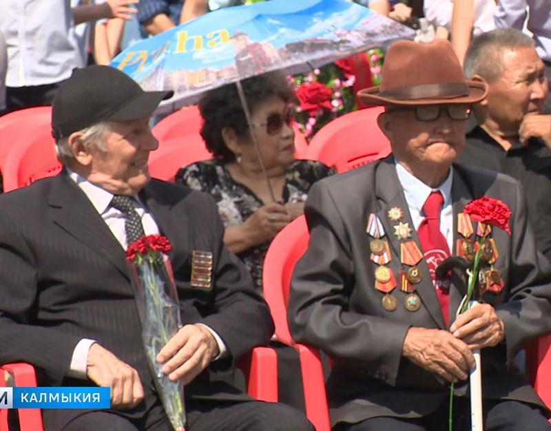 Ветераны Калмыкии получат поздравления Президента России Владимира Путина