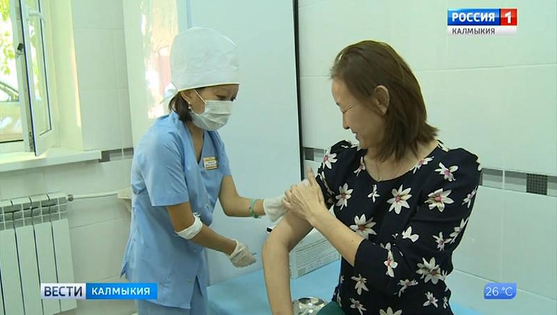 Поступила первая партия вакцины против гриппа