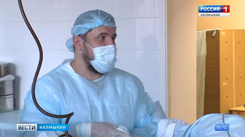 Денис Мазуренко назначен главным внештатным урологом Минздрава Калмыкии