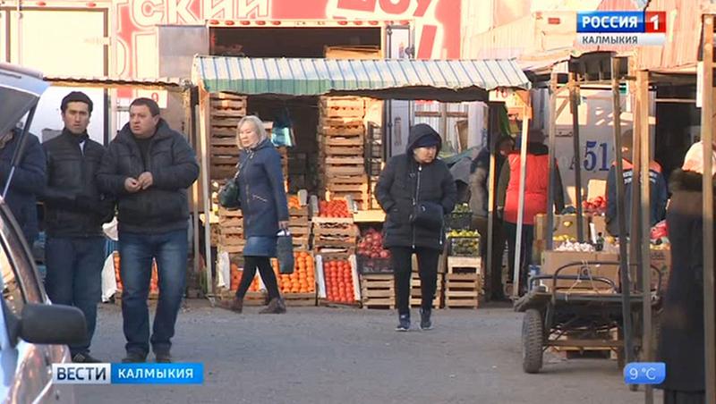 Овощной рынок будет перенесен в восточную часть Элисты