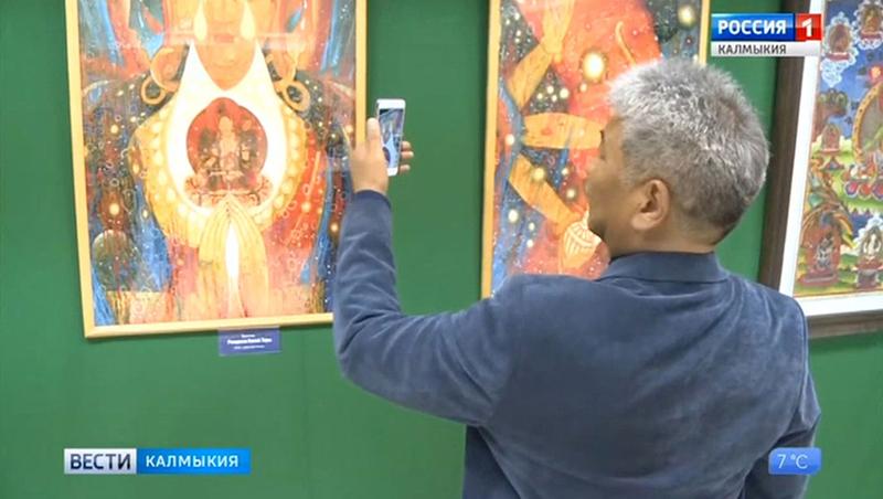 В Элисте открылась художественная выставка