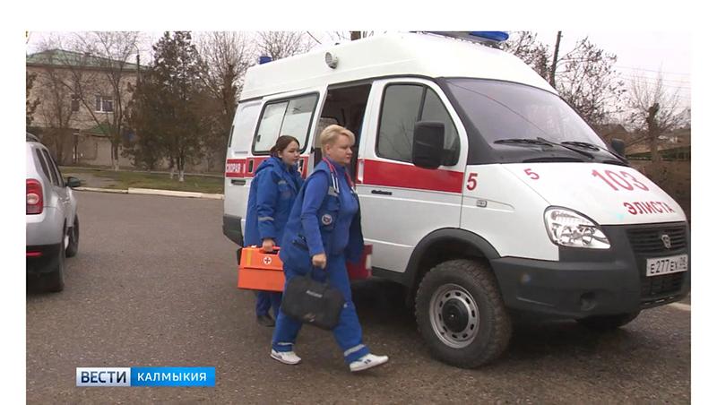 Бригады скорой помощи работают в усиленном режиме
