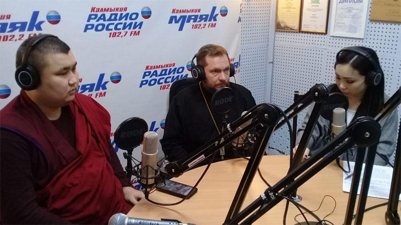 Сегодня на «Радио России. Калмыкия» вышел первый выпуск интерактивной программы «Свет веры»