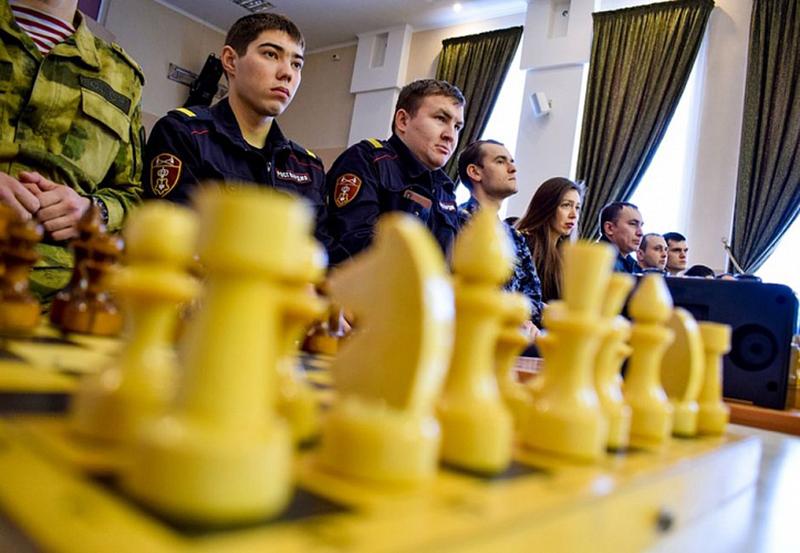 Стартовал окружной Чемпионат по шахматам среди войск Росгвардии