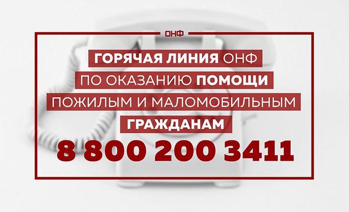 ОНФ Калмыкии ведет работу по поддержке населения