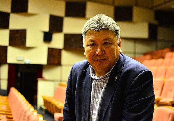 Борис Манджиев – гость студии Радио Калмыкии