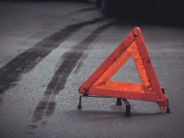 В столице, по улице Губаревича произошло ДТП с участием сотрудника МВД