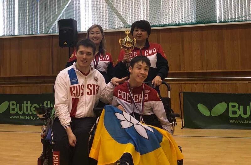Спортсмен из Калмыкии стал победителем Первенства России по бочча