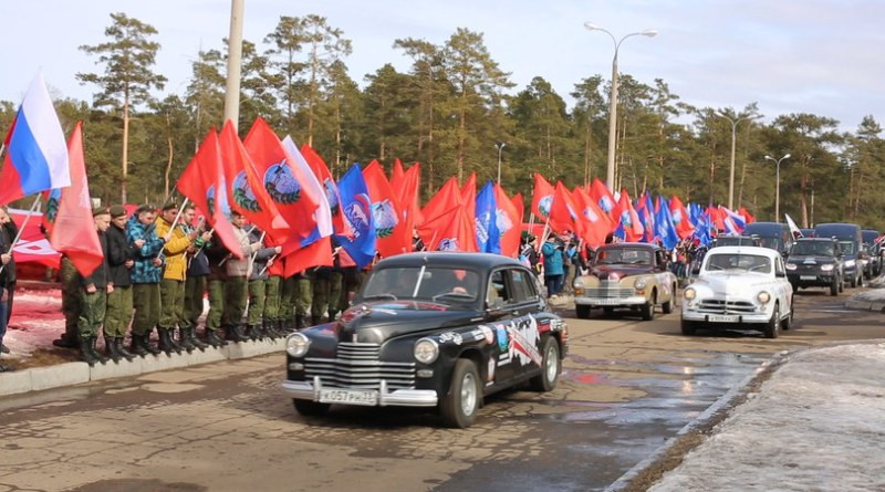 «Наша Великая Победа». Автомобильный марш-эстафета прибыл в Калмыкию