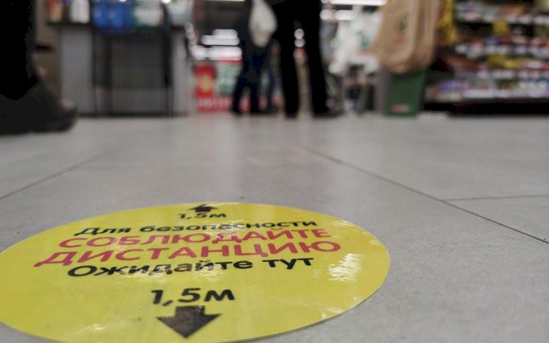 Сделана ли специальная разметка для покупателей в магазинах?