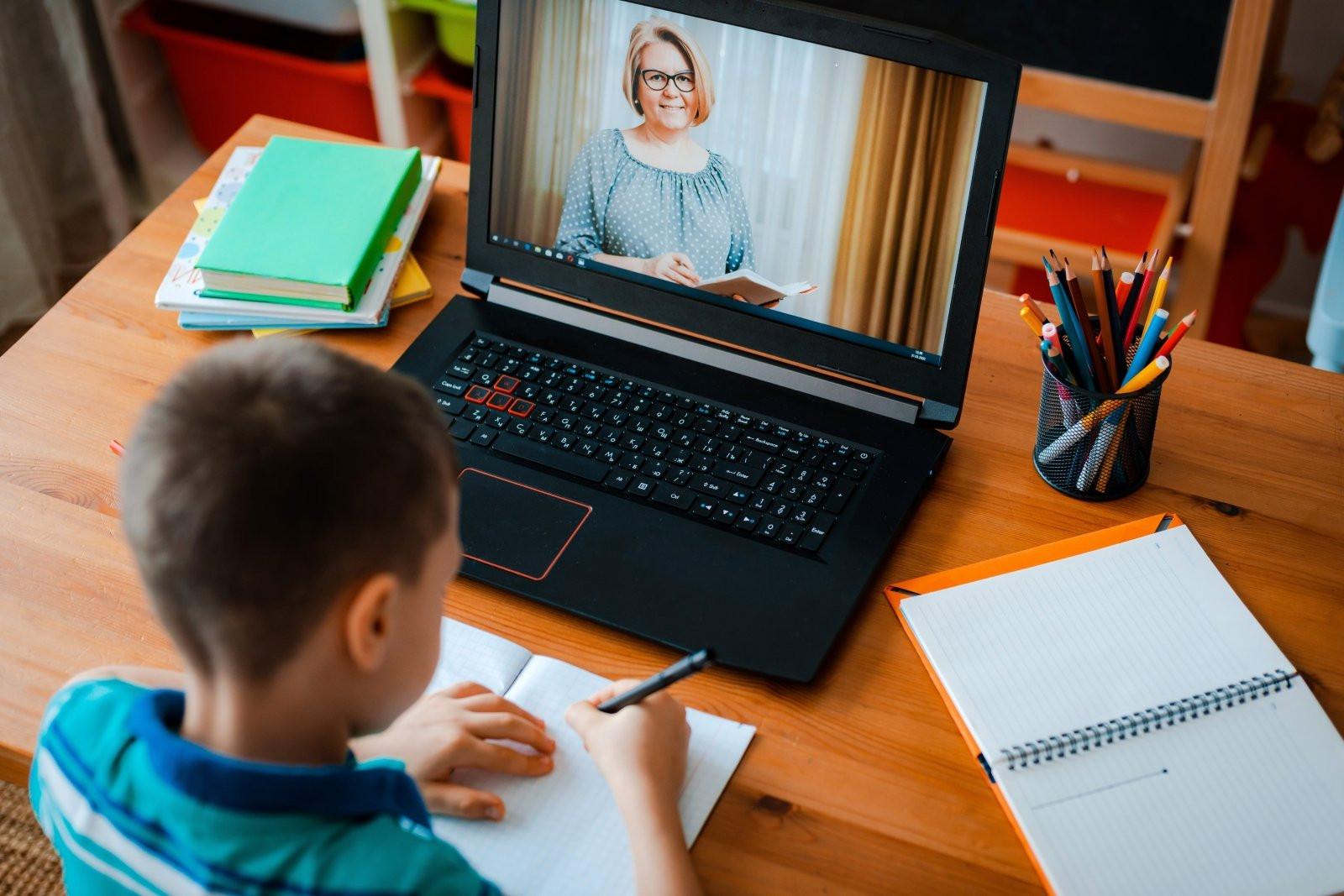 Школьники Калмыкии перешли на дистанционное обучение