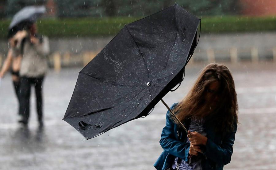 В Калмыкии ожидается сильный дождь с грозой
