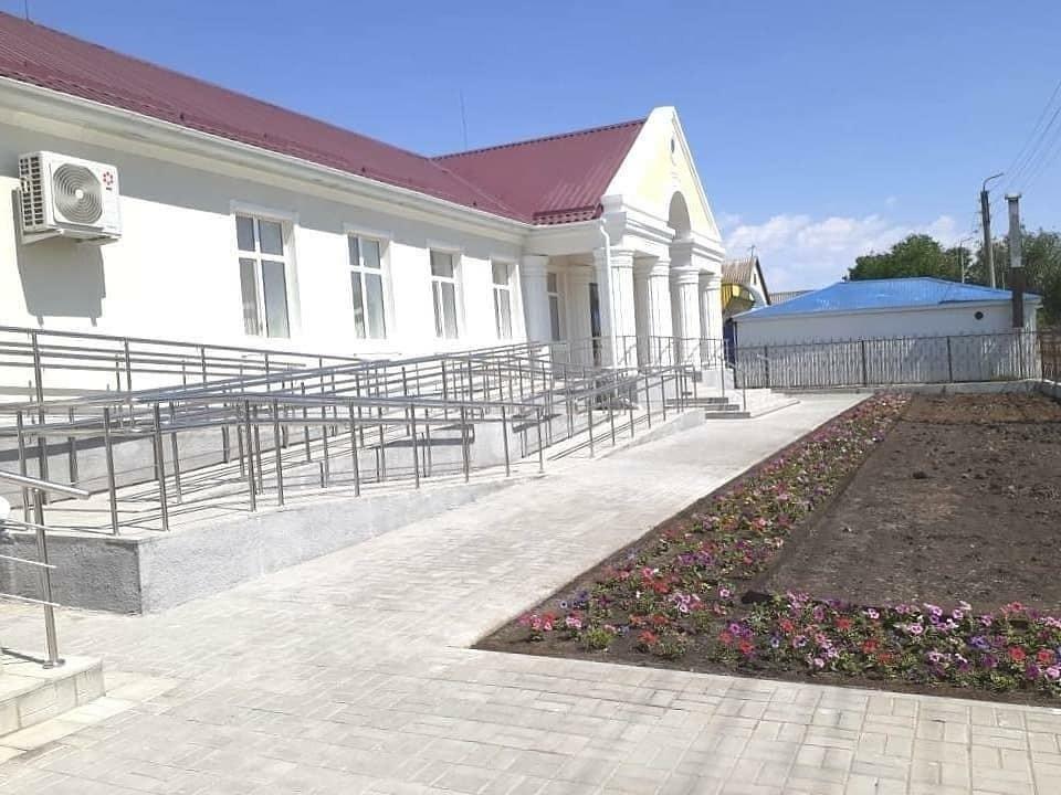Завершена реконструкция административного здания ансамбля «Тюльпан»