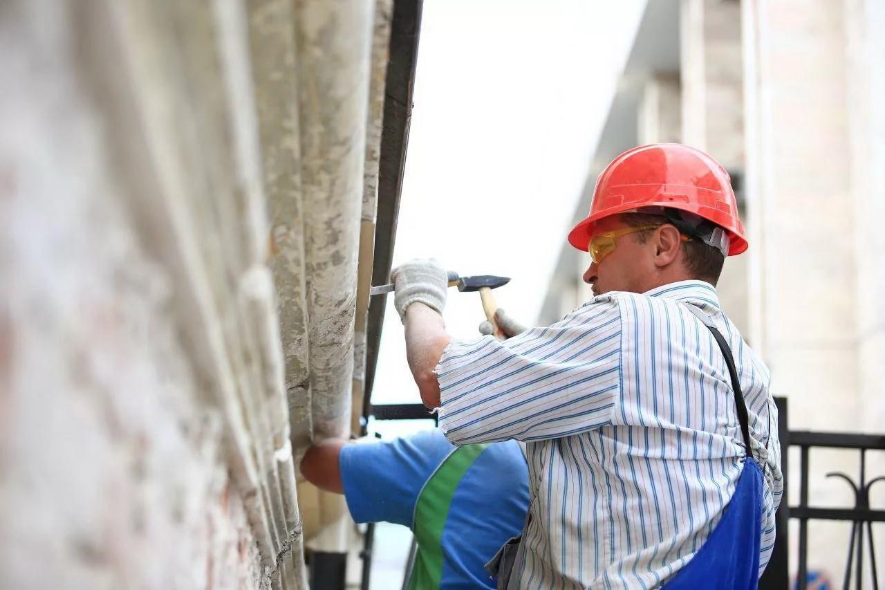 В Кетченеровском районе завершается реконструкция детско-юношеской спортивной школы