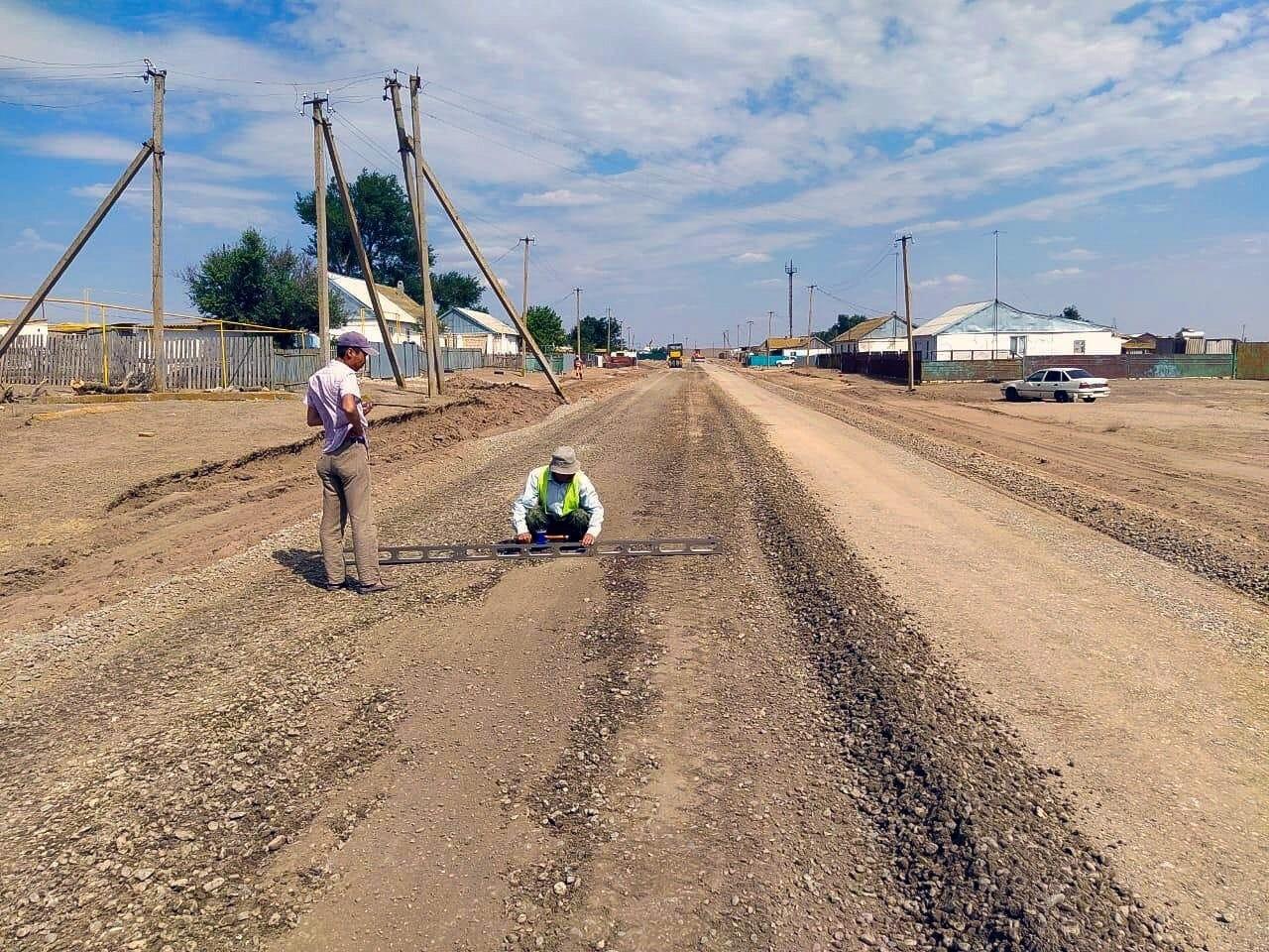 К трем поселкам Калмыкии будет проложена новая дорога