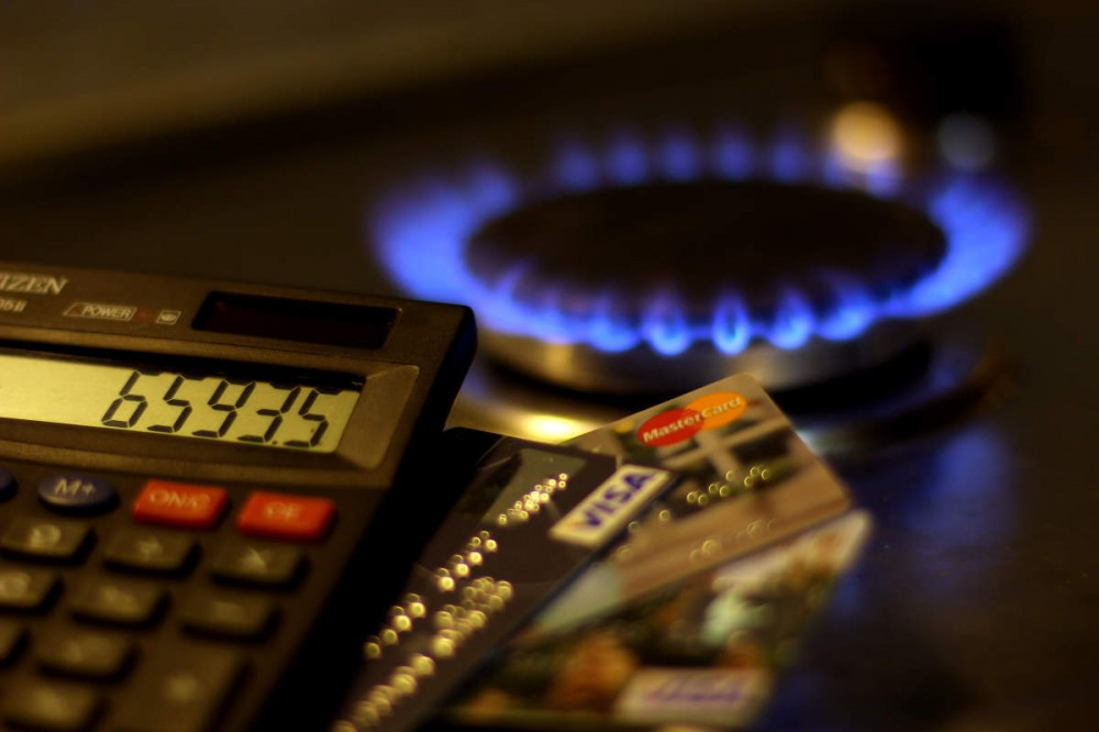 Суммы в квитанциях за потребленный газ повысятся