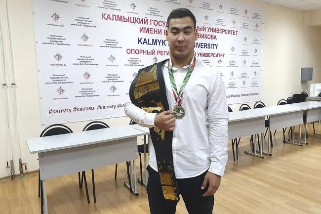 Калмыцкий спортсмен получил звание мастера спорта международного класса