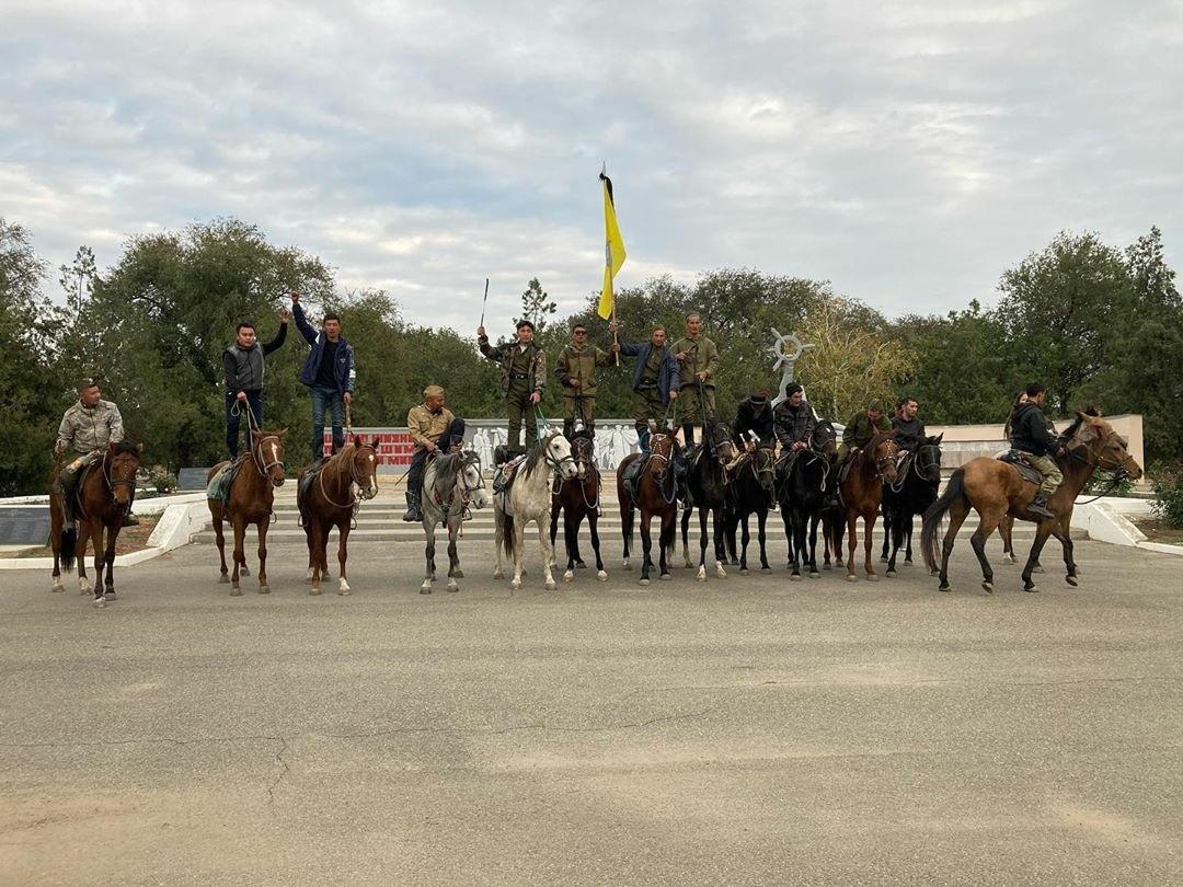 Завершился конный поход по местам боевой славы 110 отдельной калмыцкой кавалерийской дивизии