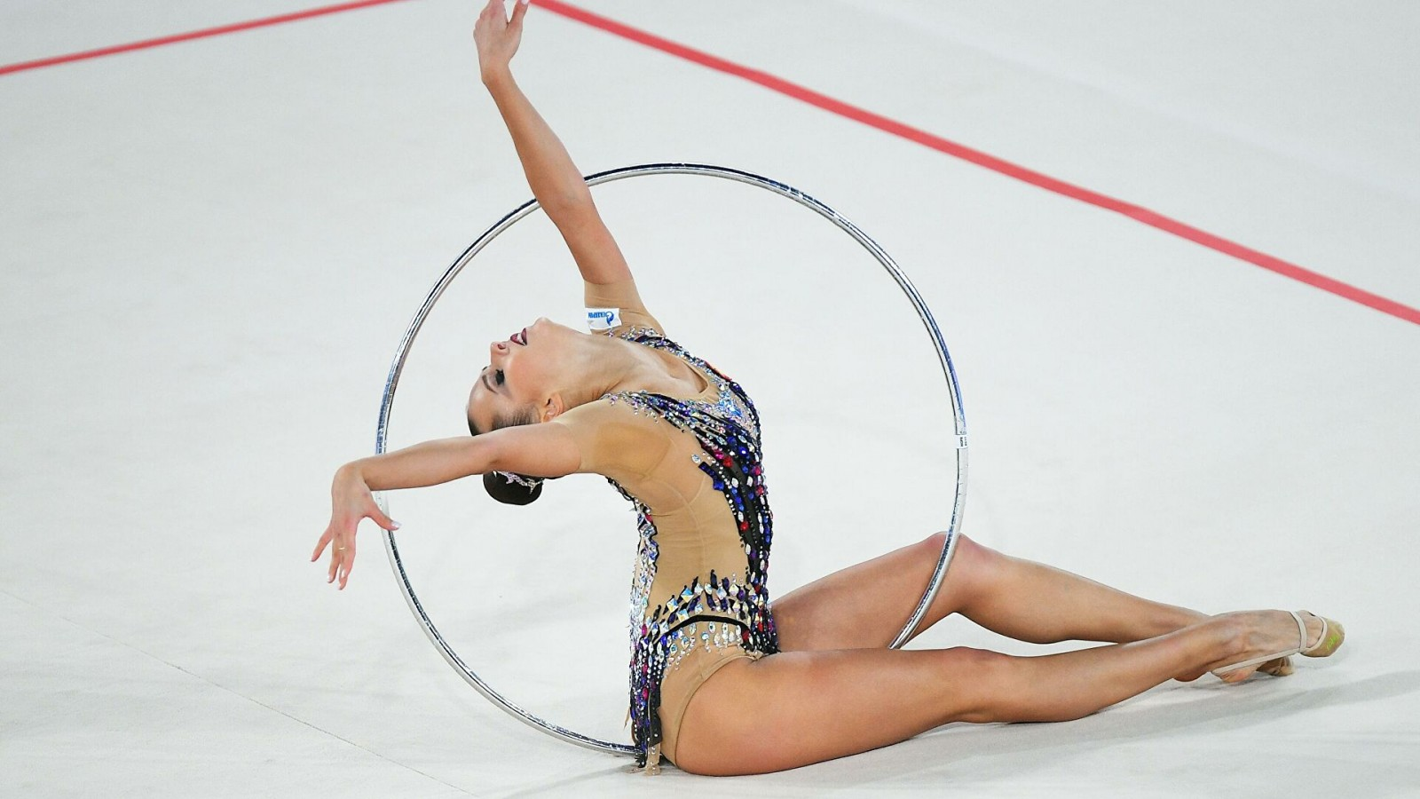 Сборная Калмыкии по художественной гимнастике серебряный призёр первенства Южного и Северокавказского федеральных округов