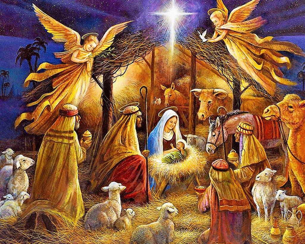 Бату Хасиков поздравил жителей Калмыкии с Рождеством Христовым и 25-летием Элистинской и Калмыцкой епархии