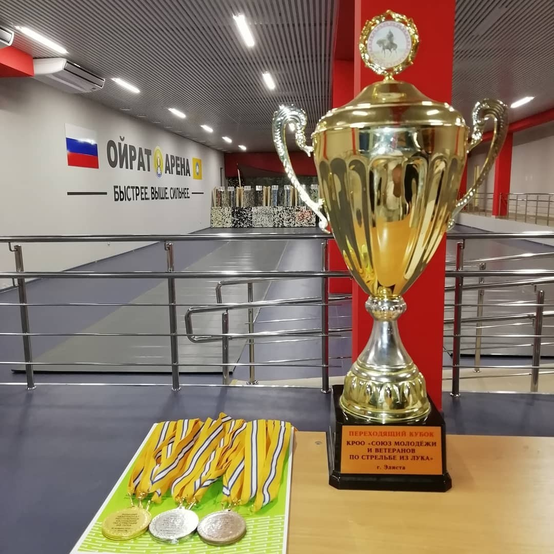 Сборная Калмыкии по стрельбе из лука готовится к участию в Чемпионате и Кубке России