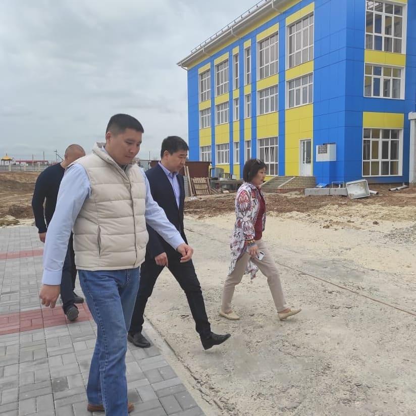 В селе Троицкое  совсем скоро откроет двери новая школа на 528 мест