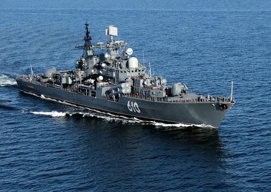 """Малый противолодочный корабль """"Калмыкия"""" пройдёт парадным строем 25 июля в день Военно-морского флота России"""