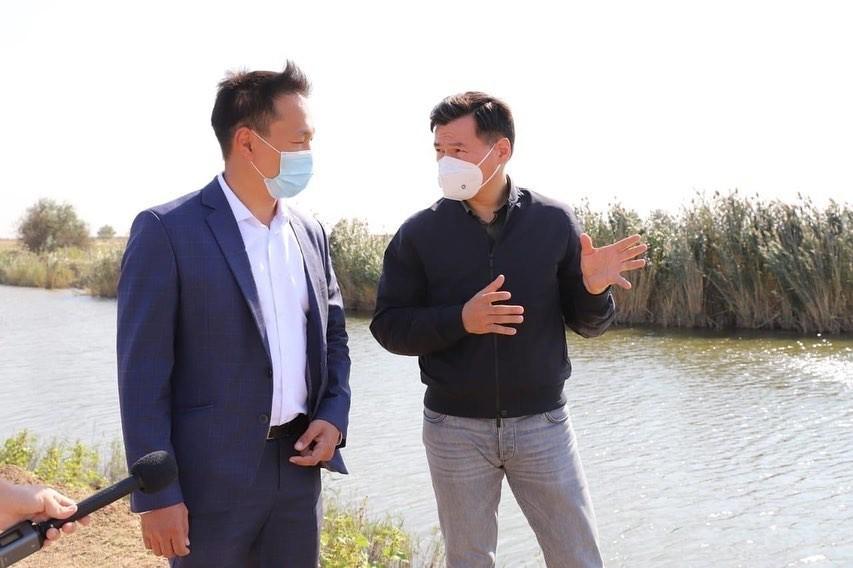 Глава Калмыкии Бату Хасиков взял на личный контроль проблему подачи воды рисоводам