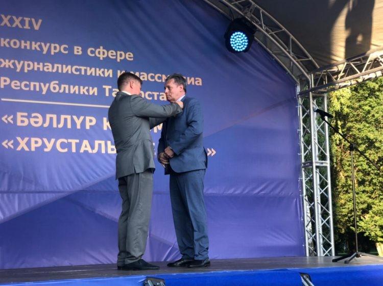 Заместитель генерального директора ВГТРК Рифат Сабитов награжден Орденом «Дуслык»
