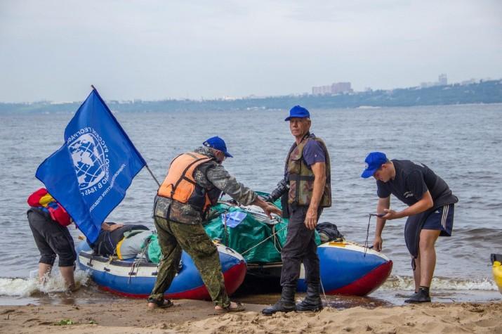 Сегодня Калмыкию посетят участники масштабной водной экспедиции «Россия с Севера на Юг»