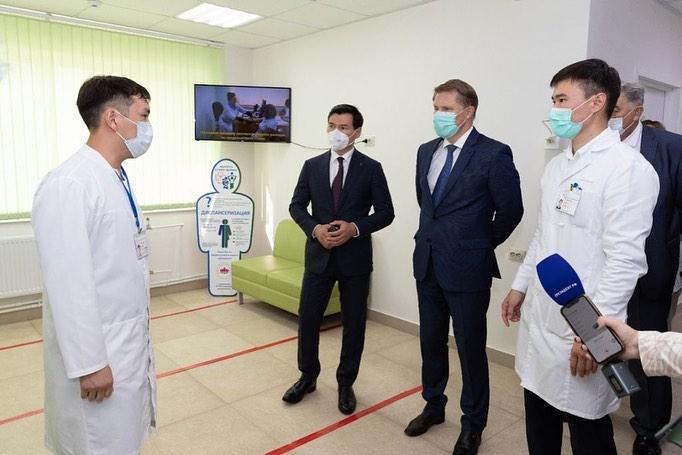 Михаил Мурашко посетил объекты здравоохранения Калмыкии