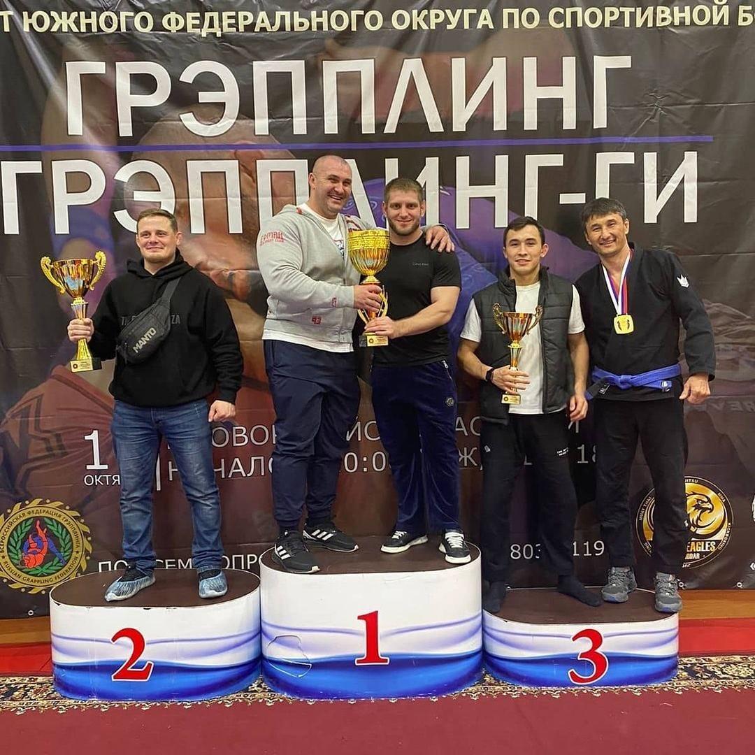 Калмыцкие спортсмены стали призёрами Чемпионата ЮФО по грепплингу в Новороссийске