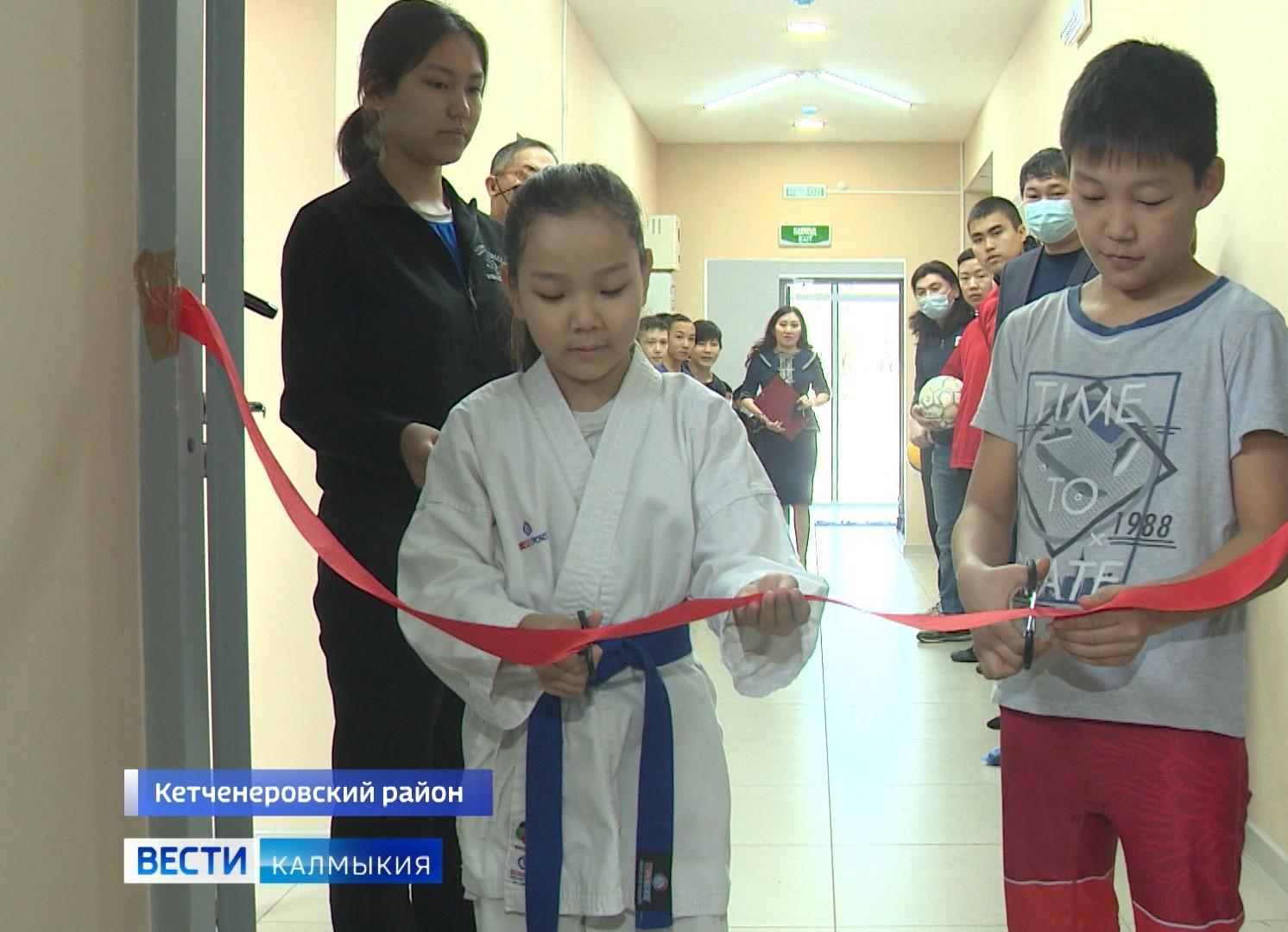 В поселке Кетченеры состоялось торжественное открытие ДЮСШ после реконструкции
