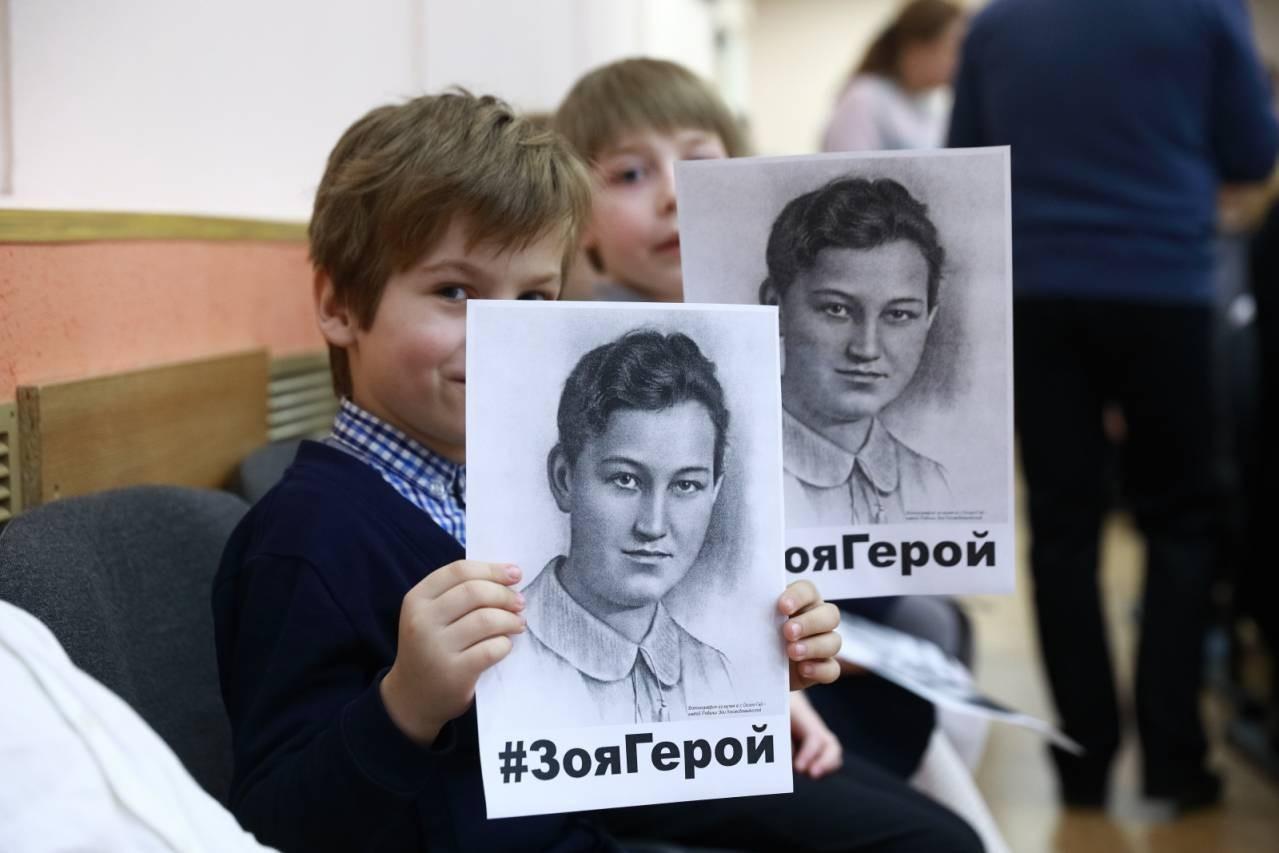 В России в 5 раз проходит патриотический флешмоб #ЗояГерой, посвященный Зое Космодемьянской
