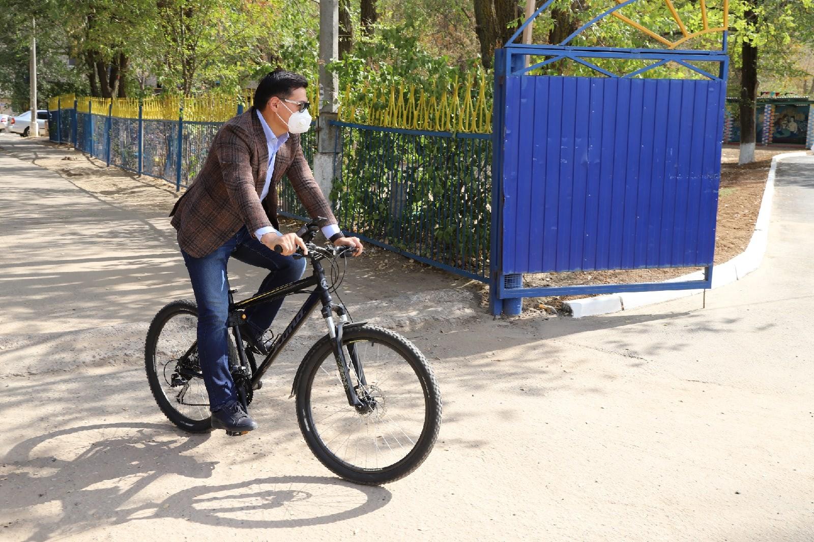 В Элисте будут развивать инфраструктуру для велопрогулок