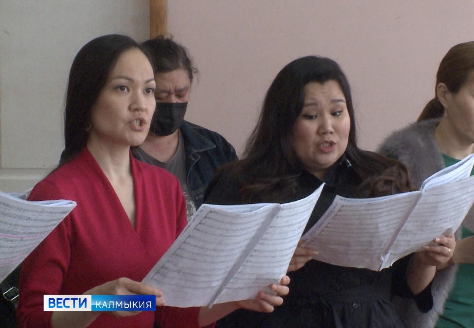 Государственный хор Калмыкии имени Цебекова начал подготовку к празднованию Пасхи